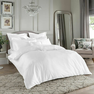100% Egyptian Cotton 400 Thread Count Duvet Cover Set Single Double King Size