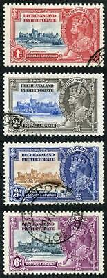 Bechuanaland Protectorate SG111/14 Silver Jubilee Set Fine Used
