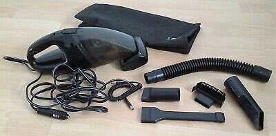 Quality Travel Portable Compact Car Vacuum Cleaner Black Power Twin Motor 12V
