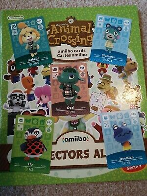 NEW ONES! Animal Crossing amiibo cards Series 1 NA