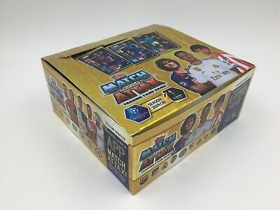 1 Caja Box Sellada 30 Sobres Packets Topps Champions 2019 2020 19 20 Match Attax