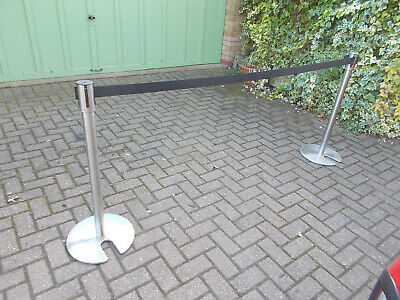 Crowd Control Barrier, Tensa barrier, Queue or event barrier. Easy to store