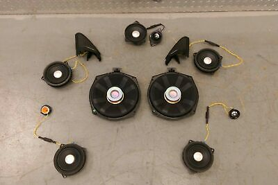 Genuine BMW F33 F83 Harman Kardon Speaker Set x12 from 2016 Model VGC