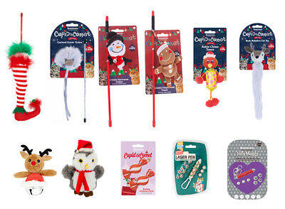 Armitage And Rosewood Christmas Themed Interactive Teaser Cat Toys