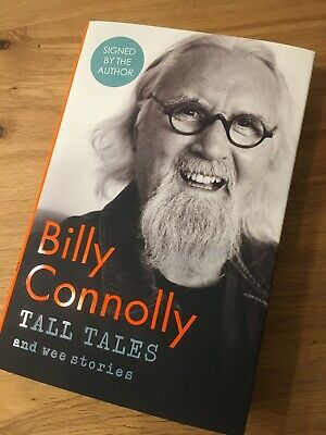 Billy Connolly Signed Book Tall Tales And Wee Stories Hardback 1st Edition