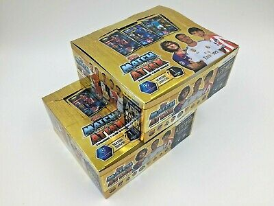 2 CAJAS BOXES SELLADAS 2x30 SOBRES PACKETS TOPPS CHAMPIONS 2019 2020 MATCH ATTAX