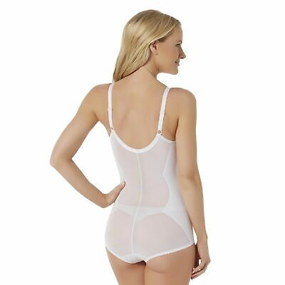 Fundamentals Extra Firm Control Women's Body Briefer White Size 42C NWT
