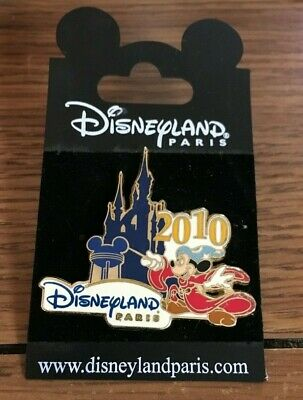 2010 Paris Disneyland New Generation Character Letter D-Mickey Mouse Pin Only