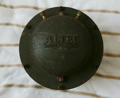 Vintage Altec Lansing 288B Horn Driver Single (Hollywood Version)