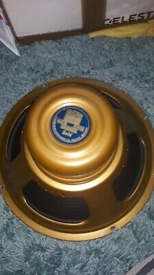 "CELESTION GOLD ALNICO GUITAR SPEAKER 12"" 8ohm"