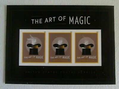 Mint US stamp Sheet of 3  #5306  The Art of Magic