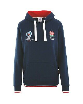 OFFICIAL ENGLAND RUGBY WORLD CUP 2019 Japan HOODIE LADIES SMALL