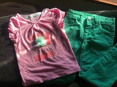 Darling Cherokee girls Jeans outfit.  Size 4/4T