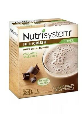 Nutrisystem Nutricrush Chocolate Shake Mix, 5 Packets , 1.04 oz