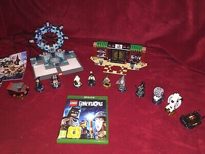 Huge lego dimensions xbox one Bundle. starter pack- Scooby Do-ghost Buster-ATeam
