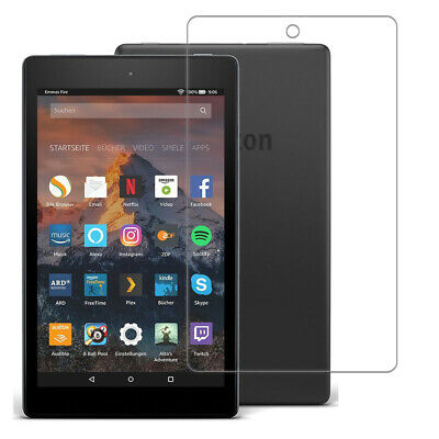 """Genuine Tempered Glass Screen Protector For amazon Kindle fire HD 10 10.1""""  2017"""