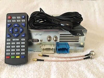 BMW 3 5 7 Z4 M3 M5 X3 X5 DVB-T Freeview TV Video Module + IR Remote + AV Input