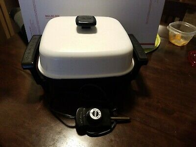 "Presto Electric Skillet # 0661743, 11"" inches, works great."