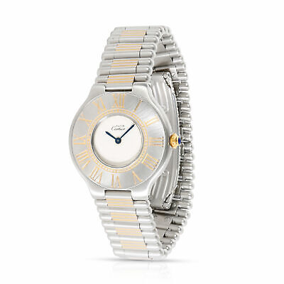 Cartier 21 21 Unisex Watch in  Stainless Steel/Gold Plate
