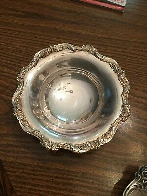 small silver dish Epca Old English By Poole 5005