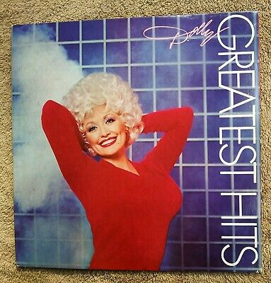 1982 Dolly Parton Greatest Hits Vinyl LP Album RCA WITHOUT Islands In The Stream