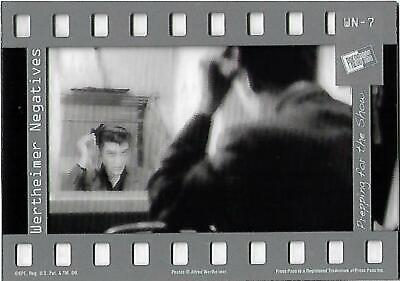 Elvis : The Music Wertheimer Negatives Cel Card WN - 7 Prepping for the Show