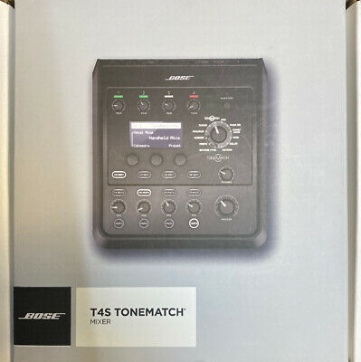 Bose Professional T4S ToneMatch Compact 4-Channel Digital Mixer