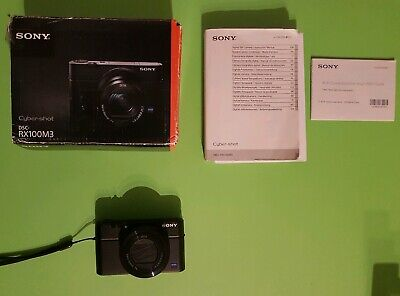 Sony Cyber-Shot DSC-RX100M3 20.1 MP Digital Camera - Black mark iii