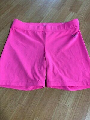 Girls Justice Hot Pink Stretchy Biker Shorts Summer Spring Size 12