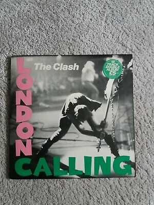 """Vinyl 12"""" LP - The Clash - London Calling - First Pressing - Very Good/Plus Cond"""