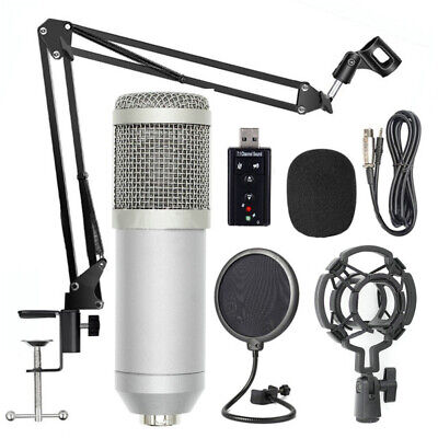 Broadcast Music Singing Recording Studio Packages Bundle Kit Professional Set K