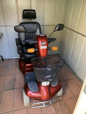 Monarch Challenger 4 Wheel Electric Mobility Scooter AS NEW CONDITION