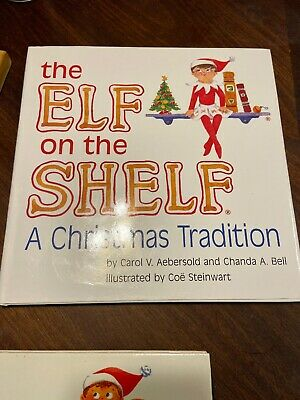 The Elf on the Shelf  ~ BOOK ONLY!~ *GIRL ELF*  Name Filled In See Pictures