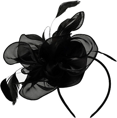 Ladies Day Hat Kentucky Derby Fascinators Tea Party Headband Wedding Cocktail