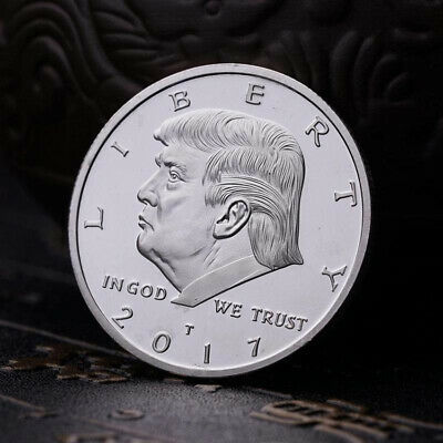 2017 Donald Trump Sliver Coin Make America GREAT Again 45th President Liberty