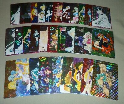 Sailor moon VINTAGE RARE PRISM MANGA CARD STICKER COLLECTION -CHOOSE PICK CHOICE