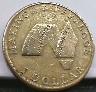 "2003  Making a Difference AUSTRALIAN VOLUNTEERS $1 /"" NO MINT /""  VERY LOW MINTAGE"