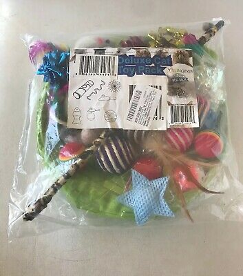 Deluxe Cat Toy Pack