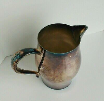 Vintage Wm A Rogers Paul Revere Reproduction Pitcher Silver Plated by Oneida