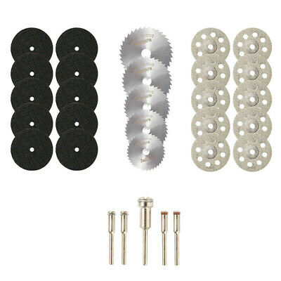 10X(30Pcs Cutting Wheel Set for Mini Drill Rotary Tool Accessories V2C1)