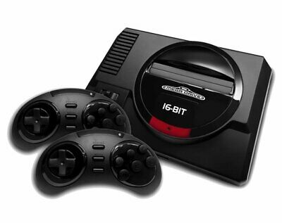 Sega Mega Drive with 85 Built-in Games HD Console Wireless Controllers