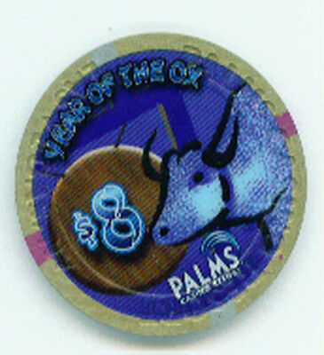 $8 Palms Year Of The Ox Chip Steer Cow
