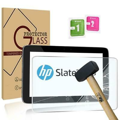 Retail pack Tablet Tempered Glass Screen Protector For HP Slate 10 HD