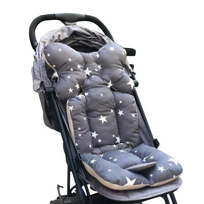 Baby Printed Stroller Pad Seat Warm Cushion Pad mattresses Pillow Cover Chi X4Y3