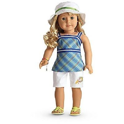 American Girl Lanie's Garden Outfit For Dolls  New in box  Isabelle Saige Blaire