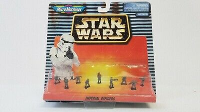 Galoob Micro Machines Star Wars Imperial Officers Mini Figure Set