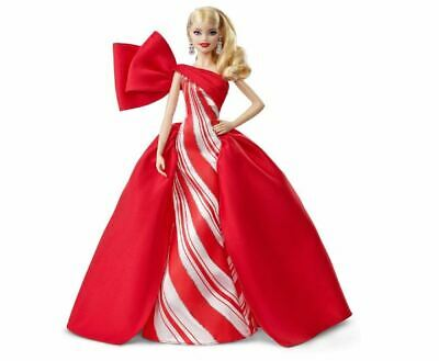 Kids Girls Toy Gift Barbie Collector 2019 Holiday Doll Glamorous Festive Gown