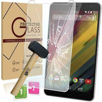 Retail pack Tablet Tempered Glass Screen Protector For HP Slate 7 VoiceTab Ultra
