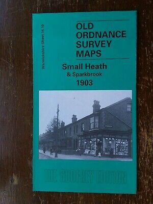 Old Ordnance Survey Map  Small Heath and Sparkbrook 1903