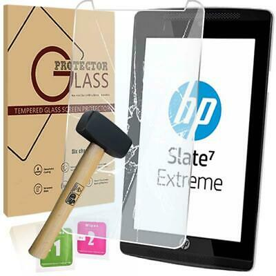 Retail pack Tablet Tempered Glass Screen Protector For HP Slate 7 Extreme